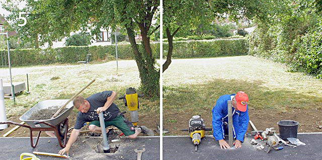 Aligning and setting concrete anchor in concrete - or make life easy for yourself with FERRADIX